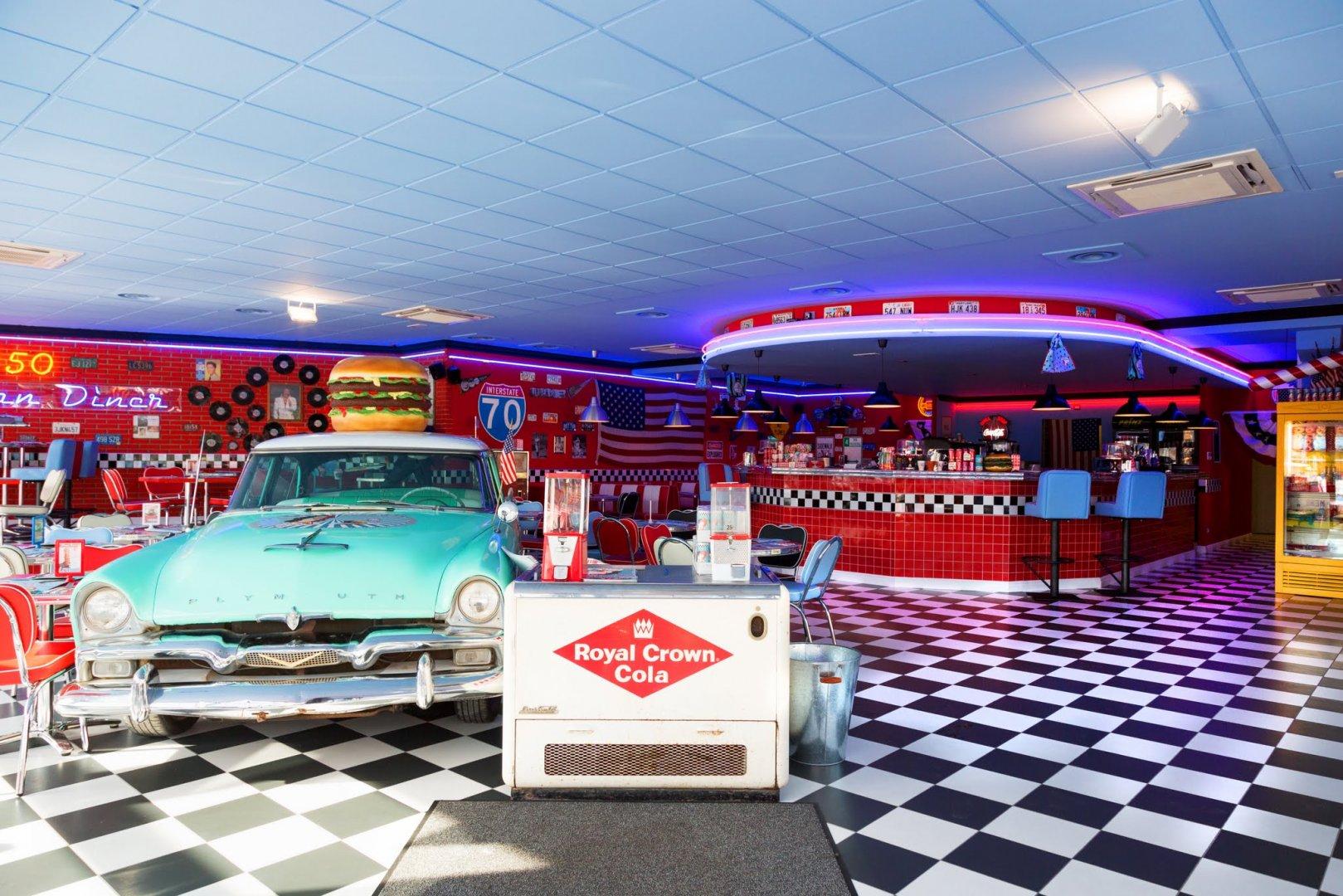 Figline Valdarno 1950 American Diner