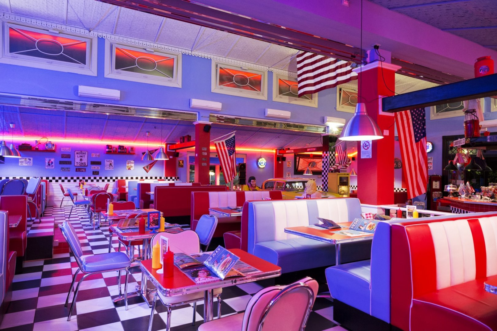 Forte Dei Marmi 1950 American Diner